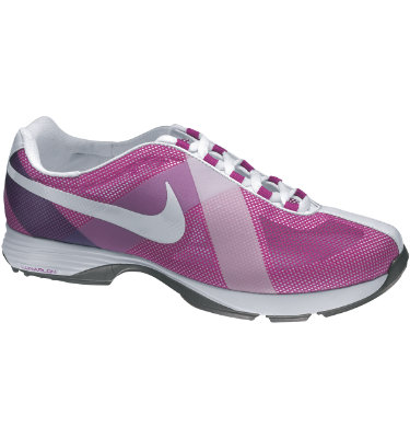 Nike Women's Lunar Summer Lite Golf Shoe - Magenta/White