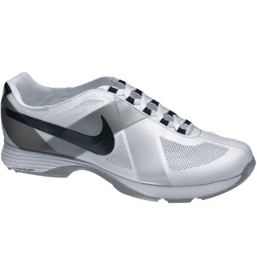 Nike Women's Lunar Summer Lite Golf Shoe - White/Black/Metallic Silver