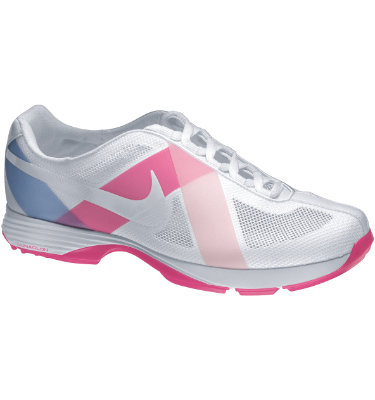 Nike Women's Lunar Summer Lite Golf Shoe - White/Prism Pink