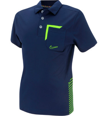 Nike Juniors' Novelty Pocket Short Sleeve Polo