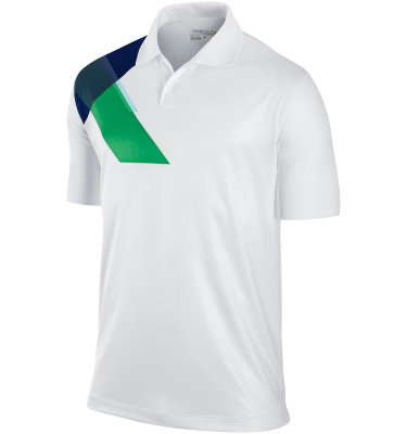 Nike Men's Prism Print Short Sleeve Polo