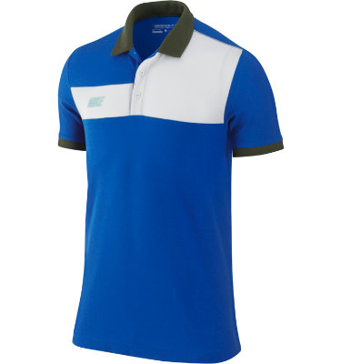 Nike Sport Men's Dri-FIT Color Block Short Sleeve Polo