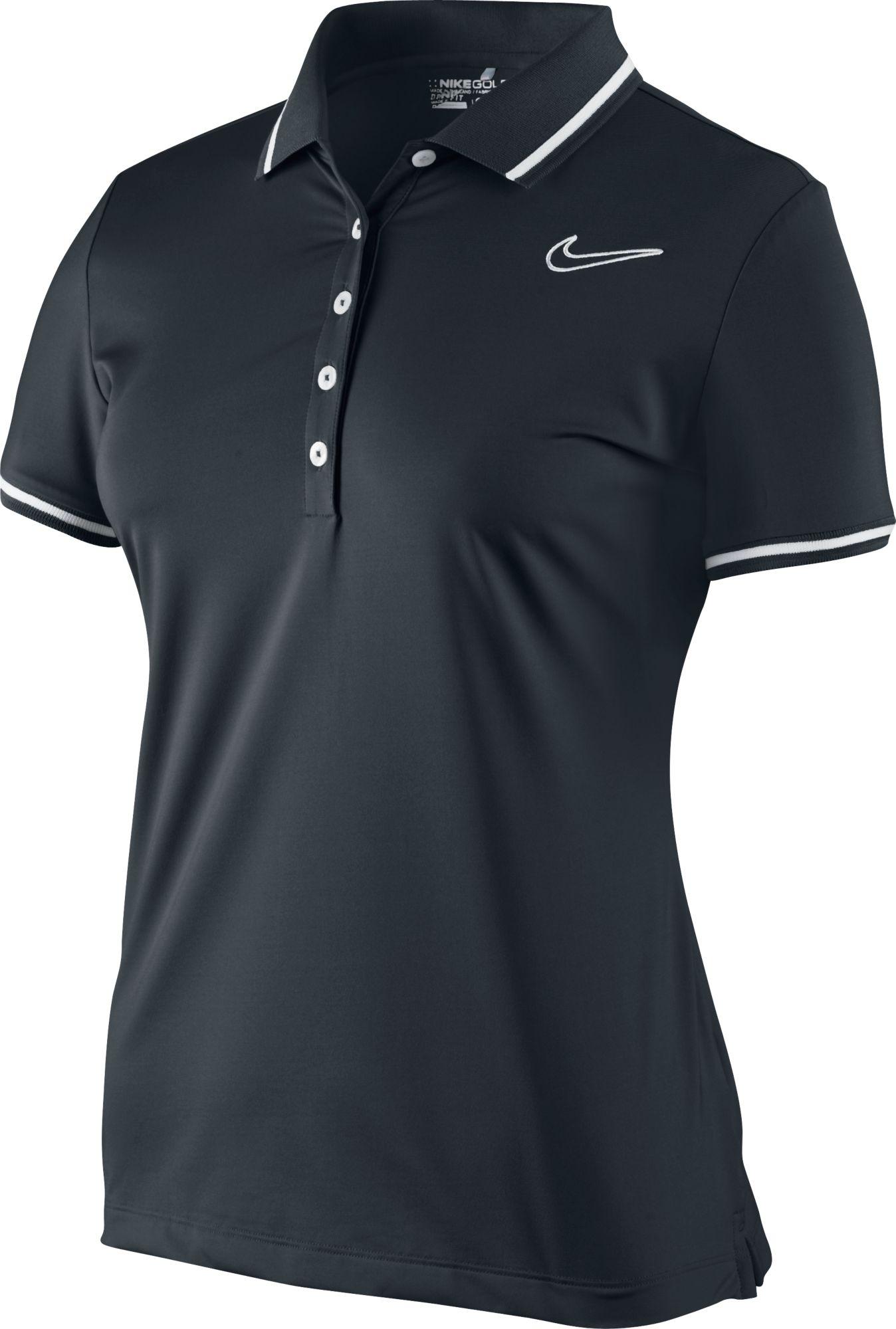 Nike Women's Swoosh Short Sleeve Polo