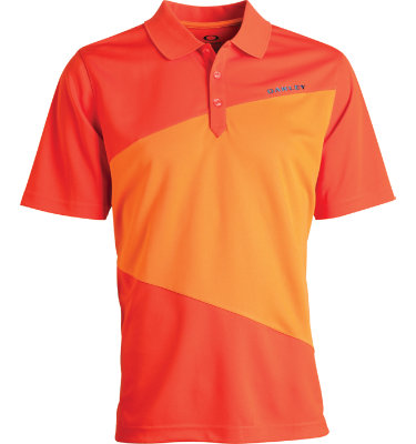 Oakley Men's Striation Short Sleeve Polo