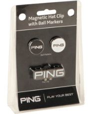 PING Magnetic Hat Clip & Ball Markers