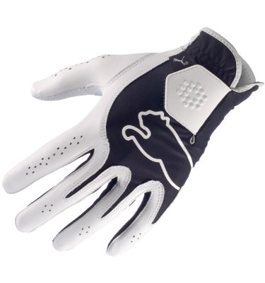 PUMA Juniors' Monoline Performance Glove - White/Black