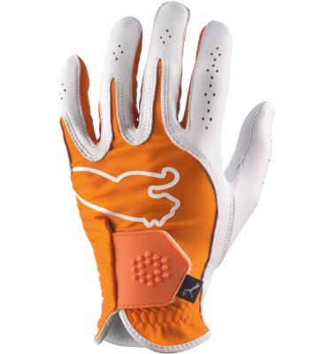 PUMA Men's Monoline Performance Golf Glove - Orange