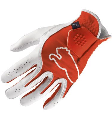 PUMA Men's Monoline Performance Golf Glove - Red