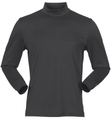 Slazenger Men's Enfield Long Sleeve Mock Neck Shirt