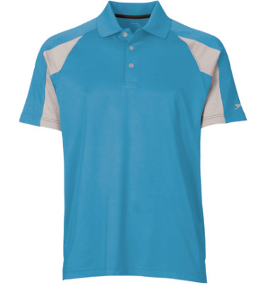 Slazenger Men's Modern Colorblock Short Sleeve Polo