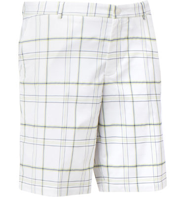 Slazenger Men's Wilson Flat Front Plaid Short