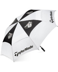 "TaylorMade Double Canopy 68"" Golf Umbrella"
