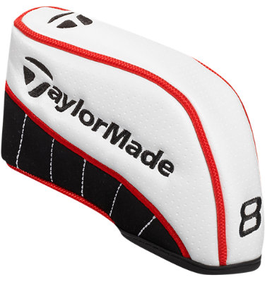 TaylorMade White Iron Set Headcovers