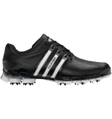 adidas Men's TOUR360 ATV Golf Shoe - Black/Black
