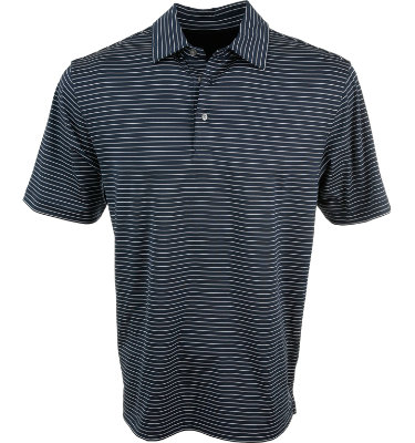 Walter Hagen Collection Men's Feeder Stripe Short Sleeve Polo