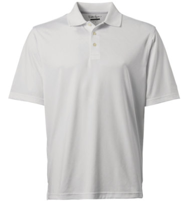 Walter Hagen Men's Leska Solid Short Sleeve Polo