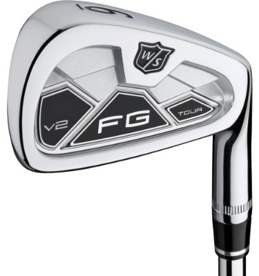 Wilson Men's FG Tour V2 Irons - (Steel) 3-PW
