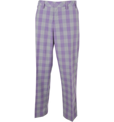 adidas Golf Men's Fashion Performance Plaid Pant