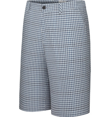 adidas Men's ClimaLite Neutral Plaid Short