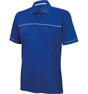 adidas Men's CLIMALITE Short Sleeve Pocket Polo