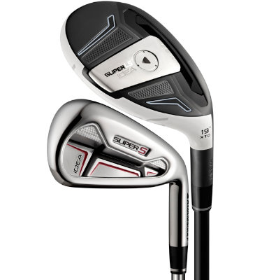 ADAMS GOLF Men's SUPER LS Hybrid/Irons - (Graphite) 3-4H,5-PW