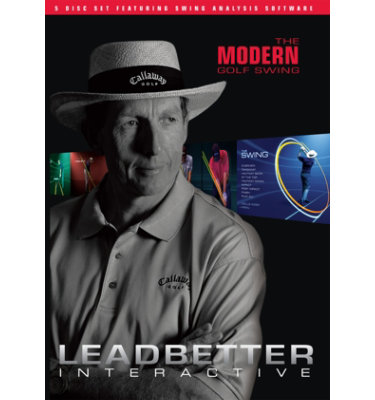 Booklegger The Modern Golf Swing: Leadbetter Interactive DVD - 5 pack