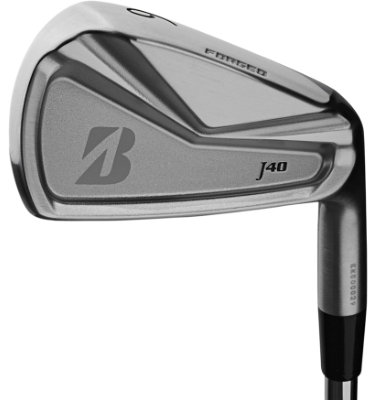 Bridgestone Men's J40 Cavity Back Irons - (Steel) 5-PW