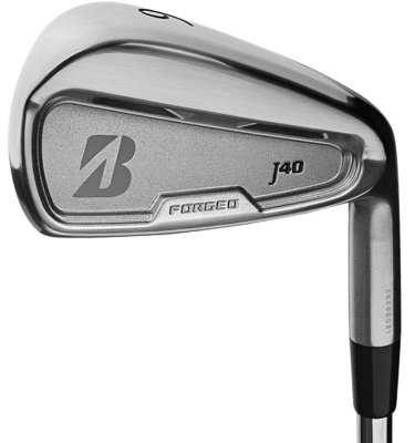 Bridgestone Men's J40 Dual Pocket Cavity Irons - (Steel) 5-PW