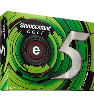 Bridgestone e5 Distance and Control Golf Balls - 12 pack