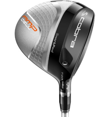 Cobra Men's AMP Cell Senior Fairway - Silver