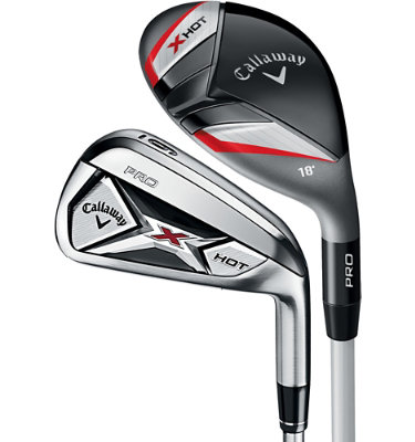 Callaway Men's X Hot Pro Hybrid/Irons - (Graphite/Steel) 3H,4-PW