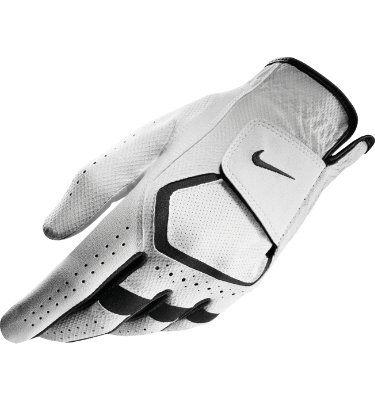 Nike Men's Dura Feel Golf Glove - White/Black