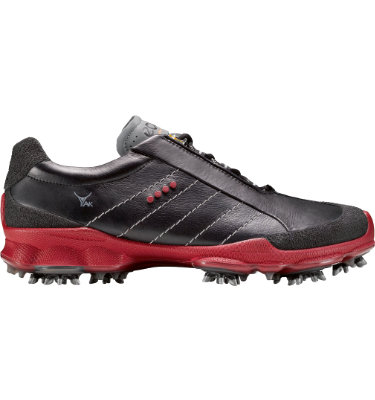 ECCO Men's BIOM Golf GTX Shoe - Black/Brick