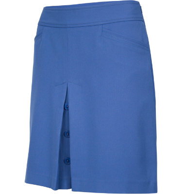 EP Pro Women's Faux Button Placket Skort