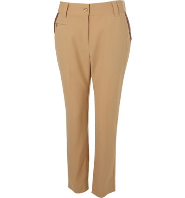 EP Pro Women's Faux Leather Trim Pant