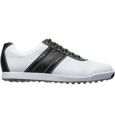 FootJoy Men's Contour Casual Golf Shoe - White/Black