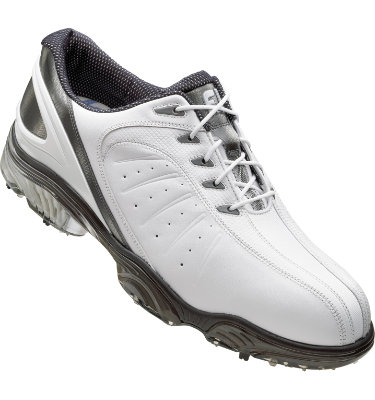 FootJoy Men's FJ Sport Golf Shoe - White Smooth/Silver