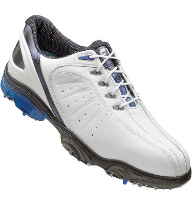 FootJoy Men's FJ Sport Golf Shoe - White Smooth/Blue