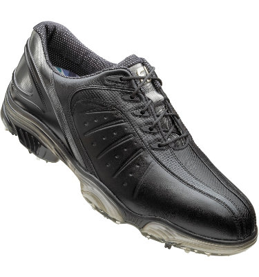 FootJoy Men's FJ Sport Golf Shoe - Black/Silver (Disc Style 53288)