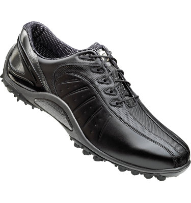FootJoy Men's FJ Sport Spikeless Golf Shoe - Black/Silver