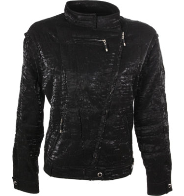 Jamie Sadock Women's Metallica Jet Black Long Sleeve Jacket