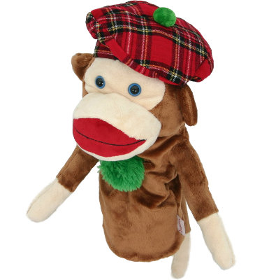 Daphne's Headcovers - Monkey Headcover