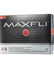 Maxfli U/6 Golf Balls - 12 pack