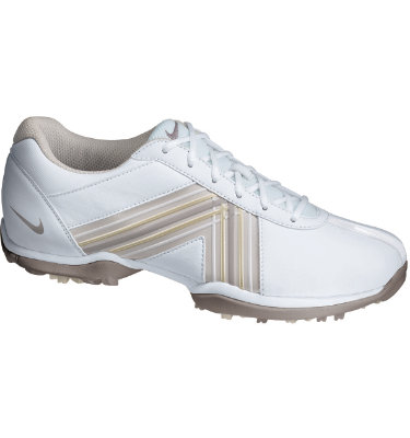 Nike Women's Delight Golf Shoe - White/Muave