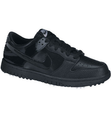 Nike Junior's Dunk NG Golf Shoe - Black