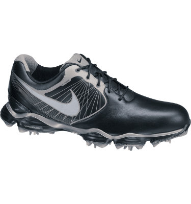 Nike Men's Lunar Control Golf Shoe - Black/Reflective Silver/Metallic Pewter