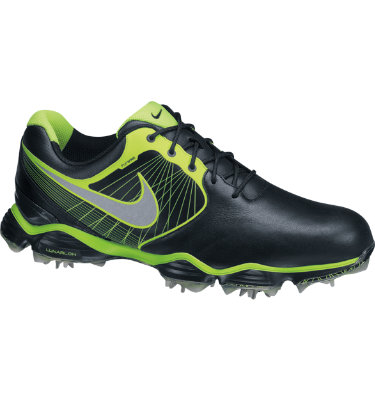 Nike Men's Lunar Control Golf Shoe - Black/Reflective Silver/Volt