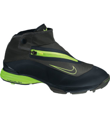Nike Men's Lunar Bandon Golf Shoe - Midnight Fog/Black/Volt