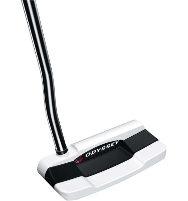 Odyssey Men's Versa White Hot #1 Wide Putter - (White Black White)