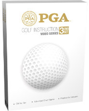 PGA Golf Instruction Video Series - set of 3